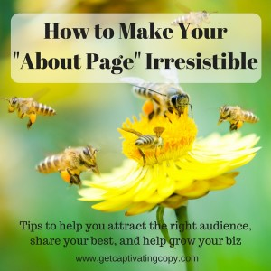 About Page Tips