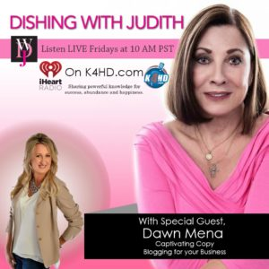 Dishing With Judith and Dawn