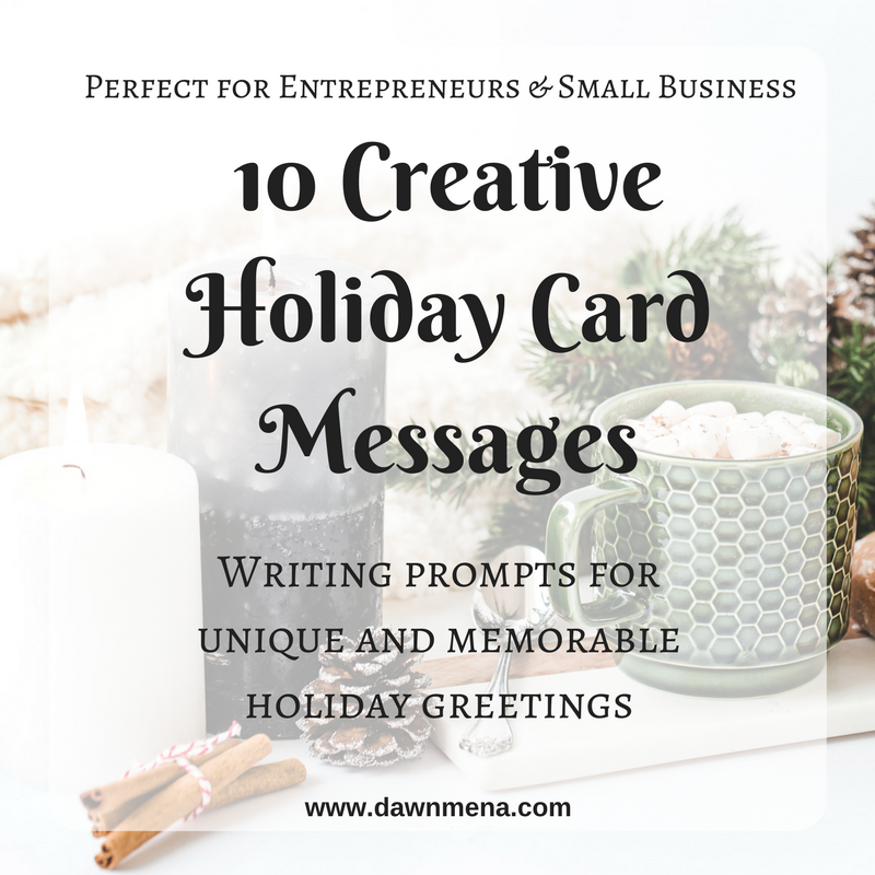 10 Creative Holiday Card Messages Captivating Copy